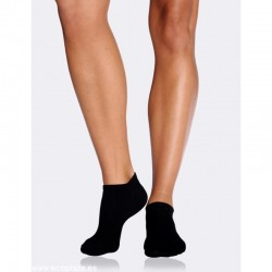 Calcetines mujer tobilleros negros BOODY 34-40